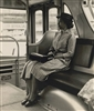 Rosa Parks Re-enacts Sitting in the Front of the Bus, 1965
